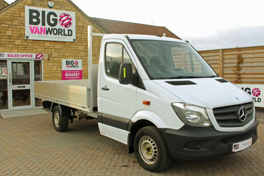 MERCEDES SPRINTER 313 CDI 129 MWB SINGLE CAB NEW BUILD ALLOY DROPSIDE - 9669 - 2