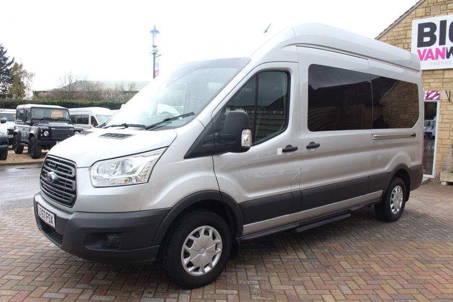 FORD TRANSIT 410 TDCI 155 L3 H3 TREND 15 SEAT BUS LWB HIGH ROOF RWD - 9122 - 6