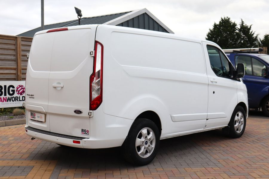 FORD TRANSIT CUSTOM 270 TDCI 130 L1H1 LIMITED SWB LOW ROOF FWD - 11959 - 6