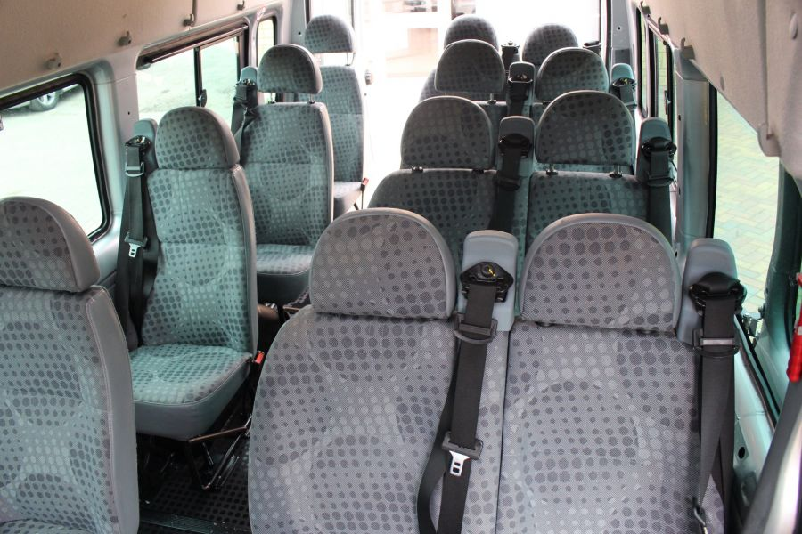FORD TRANSIT 430 TDCI 135 HIGH ROOF 17 SEAT BUS - 5825 - 18