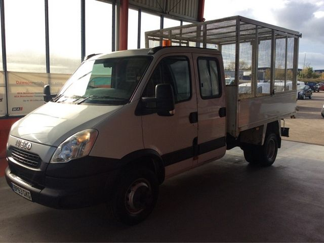 IVECO DAILY 65C17D 3.0 170BHP 3750 DOUBLE CAB CAGED TIPPER - 7005 - 5