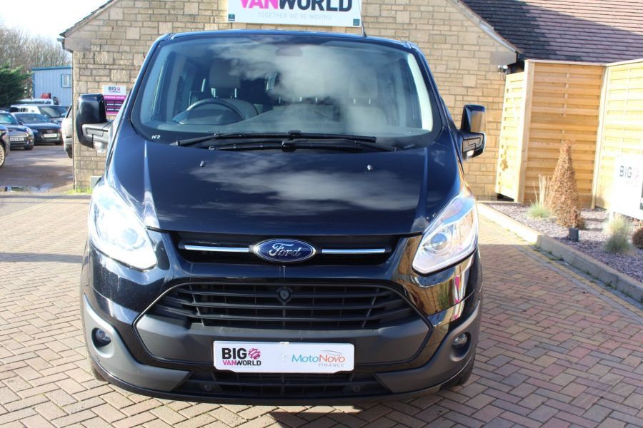 FORD TRANSIT CUSTOM 290 TDCI 155 L1 H1 LIMITED DOUBLE CAB 6 SEAT CREW VAN SWB LOW ROOF FWD - 7026 - 9