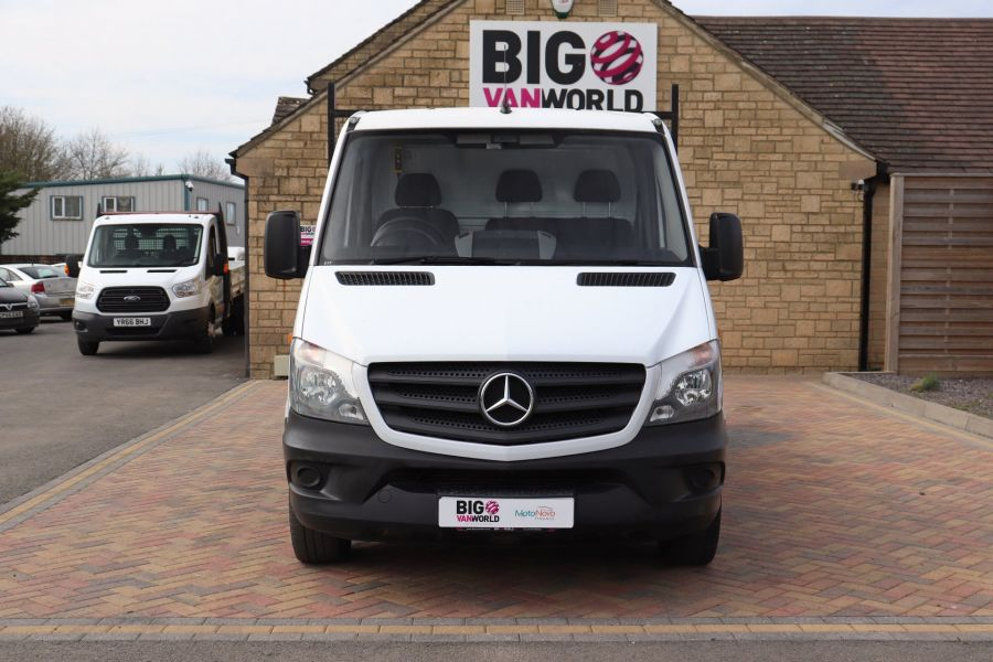 MERCEDES SPRINTER 313 CDI 129 MWB SINGLE CAB NEW BUILD ALLOY TIPPER - 11013 - 12