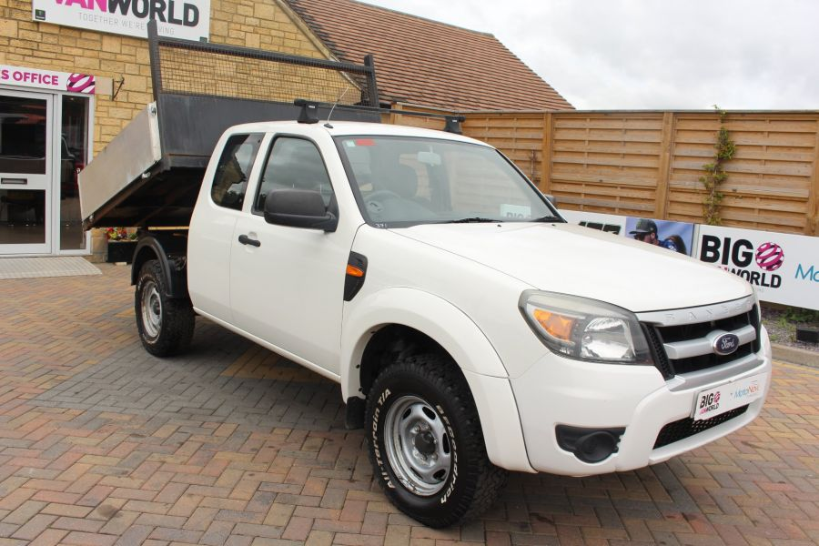 FORD RANGER XL 4X4 TDCI SUPER CAB ALLOY TIPPER - 6057 - 1
