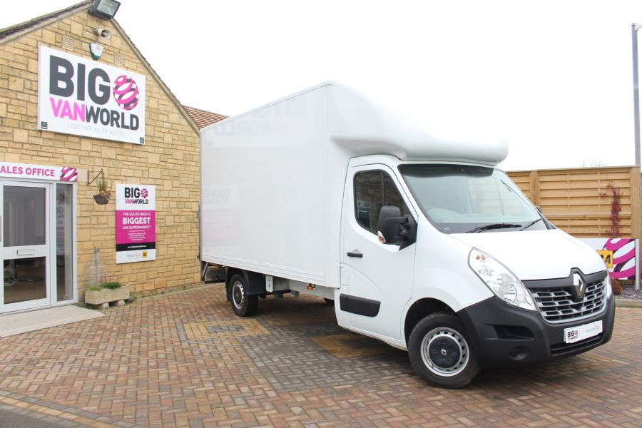 RENAULT MASTER LL35 DCI 125 BUSINESS LWB LUTON WITH TAIL LIFT  - 6880 - 1