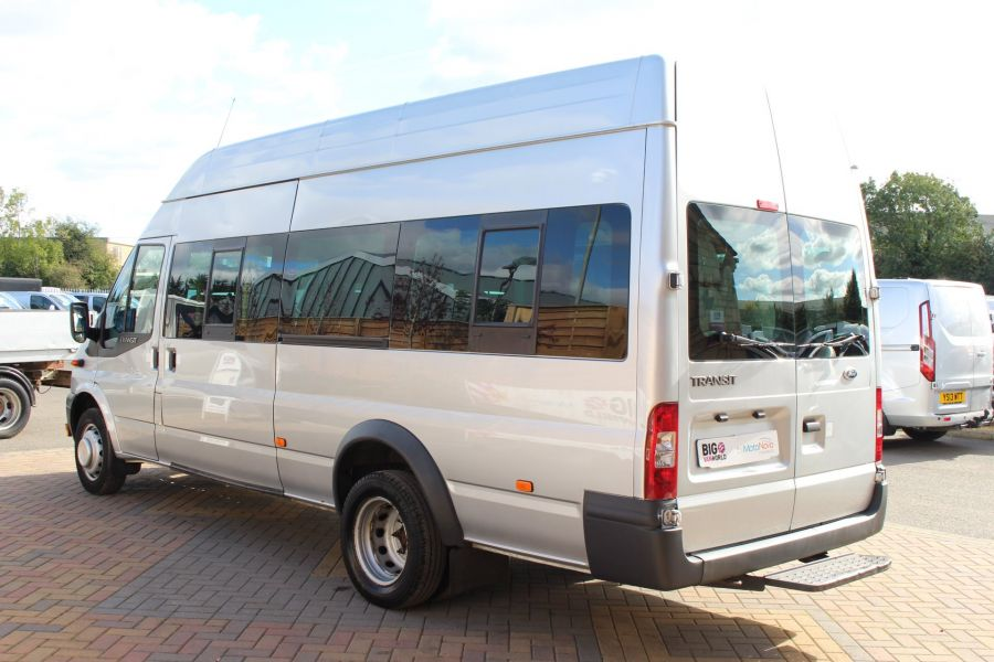 FORD TRANSIT 430 TDCI 135 LWB EL HIGH ROOF 17 SEATS BUS RWD - 6765 - 6