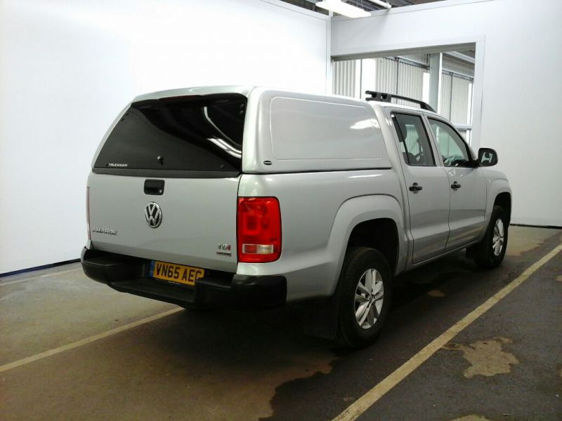 VOLKSWAGEN AMAROK DC TDI 140 STARTLINE 4MOTION DOUBLE CAB WITH TRUCKMAN TOP - 9476 - 2