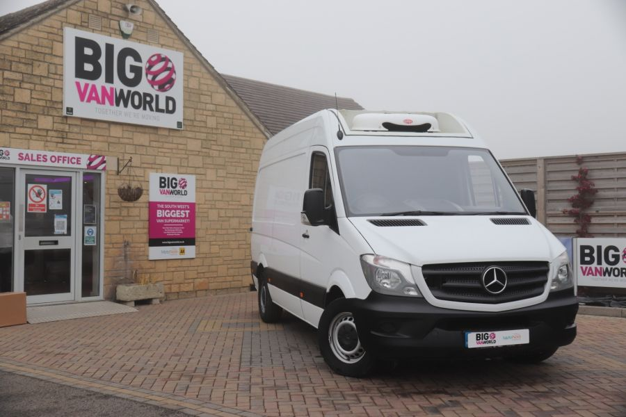 MERCEDES SPRINTER 314 CDI 140 MWB HIGH ROOF FRIDGE VAN - 12025 - 5