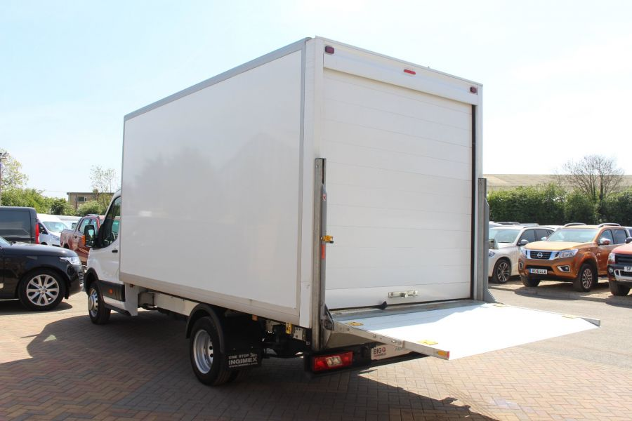 FORD TRANSIT 350 TDCI 125 L4 DRW 'ONE STOP' HIGH CAPACITY LUTON BOX WITH TAIL LIFT - 6135 - 18
