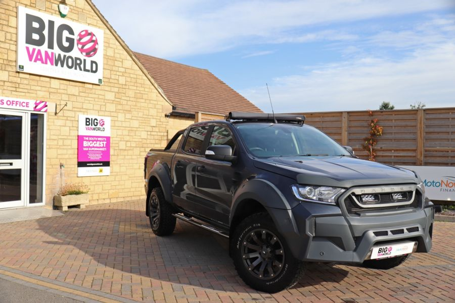 FORD RANGER TDCI 200 LIMITED EDITION 4X4 M-SPORT DOUBLE CAB WITH ROLL 'N' LOCK TOP - 9615 - 1
