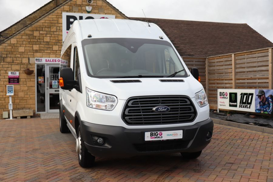 FORD TRANSIT 460 TDCI 125 L4H3 TREND 17 SEAT BUS HIGH ROOF DRW RWD - 11514 - 6