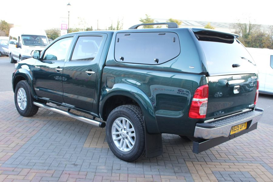 TOYOTA HI-LUX INVINCIBLE 4X4 D-4D 171 DOUBLE CAB WITH TRUCKMAN TOP - 8463 - 7