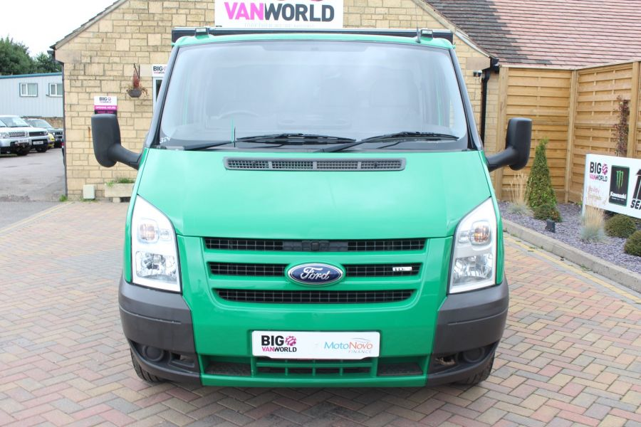 FORD TRANSIT 350 TDCI MWB SINGLE CAB NEW ALLOY ARBORIST TIPPER - 6565 - 18