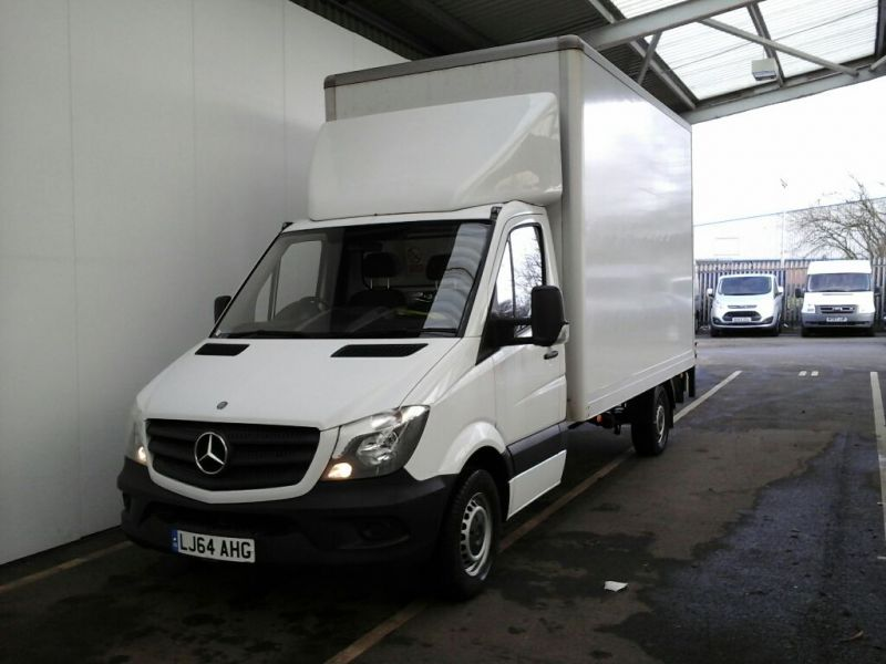 MERCEDES SPRINTER 313 CDI 129 LWB EXTRA HIGH ROOF LUTON WITH TAIL LIFT - 9047 - 1