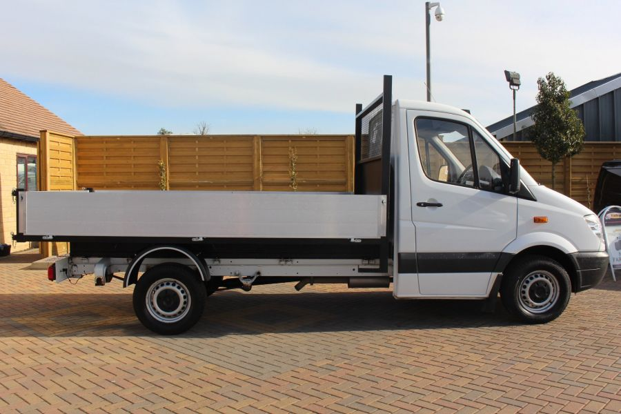 MERCEDES SPRINTER 313 CDI MWB SINGLE CAB ALLOY TIPPER - 6105 - 9