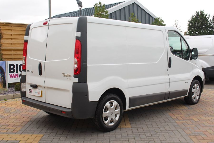 RENAULT TRAFIC SL27 DCI 115 EXTRA SWB LOW ROOF - 6450 - 5