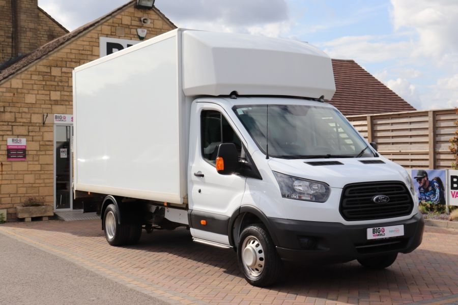 FORD TRANSIT 350 TDCI 170 L4 'ONE STOP' LUTON WITH TAIL LIFT DRW RWD  - 9531 - 3