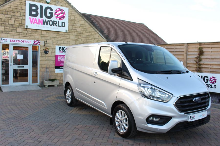 FORD TRANSIT CUSTOM 300 TDCI 130 LIMITED L1 H1 SWB LOW ROOF - 8636 - 3