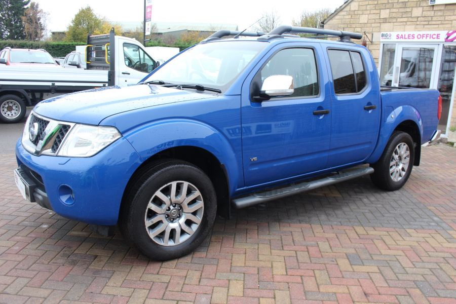 NISSAN NAVARA OUTLAW DCI 231 4X4 SHR DOUBLE CAB WITH ROLL'N'LOCK TOP - 6936 - 8