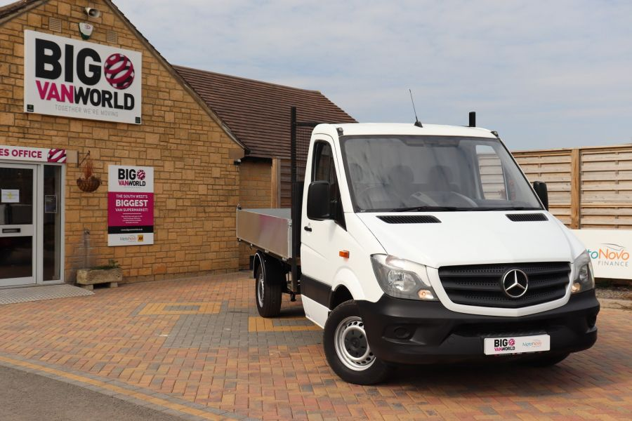 MERCEDES SPRINTER 313 CDI 129 MWB SINGLE CAB NEW BUILD ALLOY TIPPER - 11094 - 3