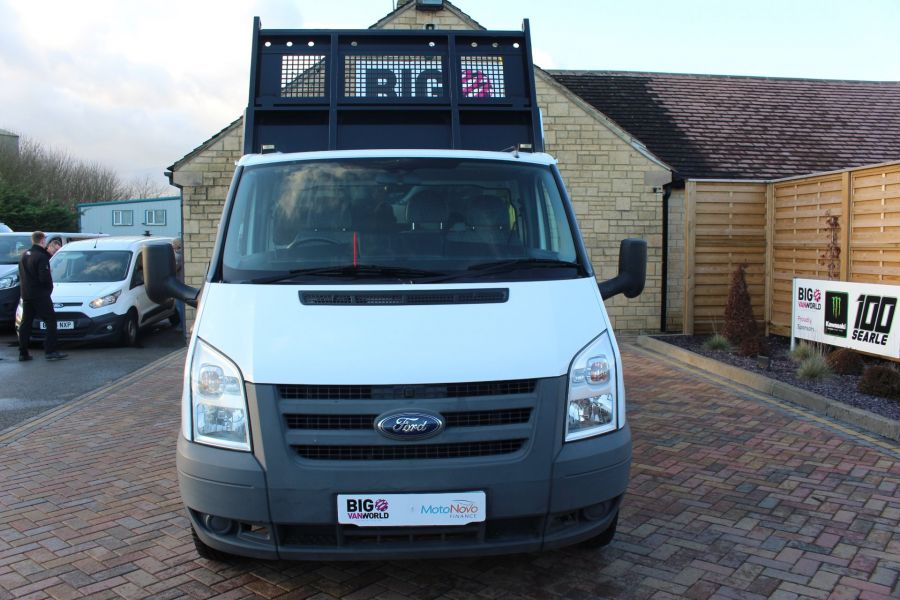 FORD TRANSIT 350 TDCI 100 MWB 'ONE STOP' ALLOY TIPPER DRW RWD - 6726 - 9