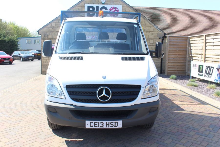 MERCEDES SPRINTER 313 CDI 129 MWB SINGLE CAB CAGED TIPPER - 9129 - 16