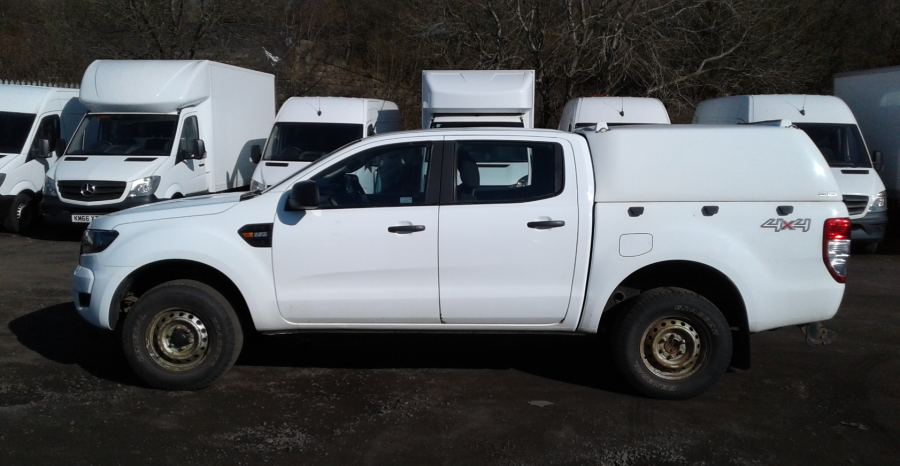 FORD RANGER TDCI 160 XL 4X4 DOUBLE CAB WITH TRUCKMAN TOP  (14253) - 12512 - 7