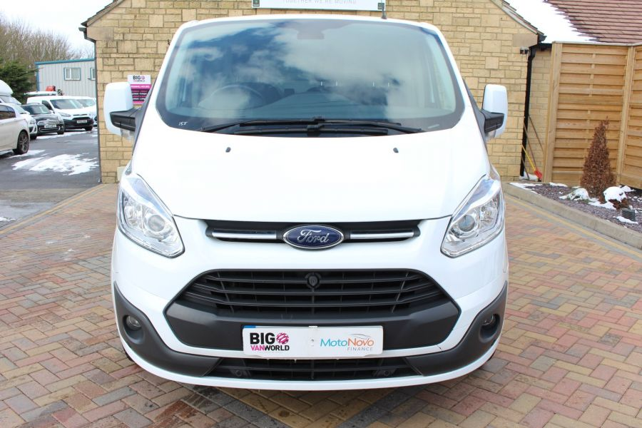 FORD TRANSIT CUSTOM 270 TDCI 125 L1 H1 LIMITED SWB LOW ROOF FWD - 7475 - 9