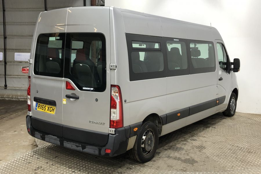 RENAULT MASTER LM39 DCI 150 BUSINESS LWB 17 SEAT BUS MEDIUM ROOF - 12070 - 3