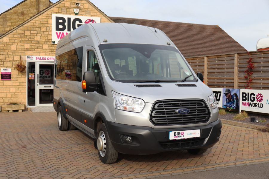 FORD TRANSIT 460 TDCI 155 L4H3 TREND 17 SEAT BUS HIGH ROOF DRW RWD - 10415 - 4