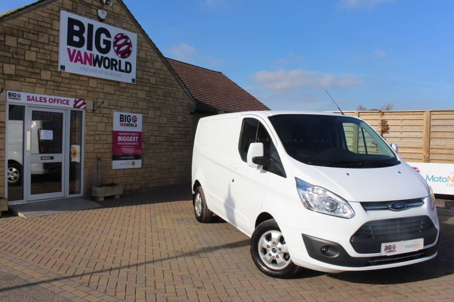 FORD TRANSIT CUSTOM 290 TDCI 170 L1 H1 LIMITED SWB LOW ROOF - 8843 - 2