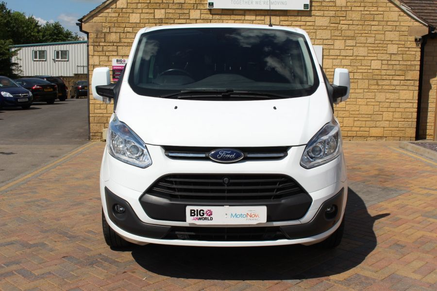 FORD TRANSIT CUSTOM 290 TDCI 125 L1 H1 LIMITED SWB DOUBLE CAB 6 SEAT CREW VAN FWD - 9206 - 10