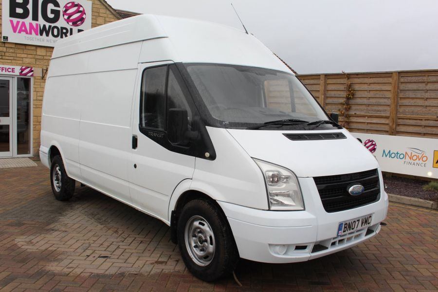 FORD TRANSIT 350 TDCI 100 LWB HIGH ROOF RWD - 9107 - 1