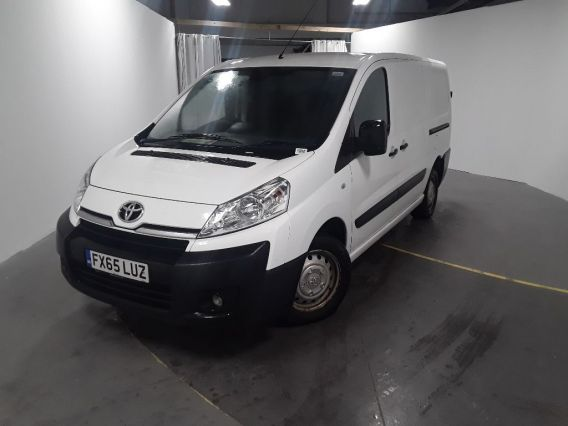 Used TOYOTA PROACE in Used Vans Swindon for sale