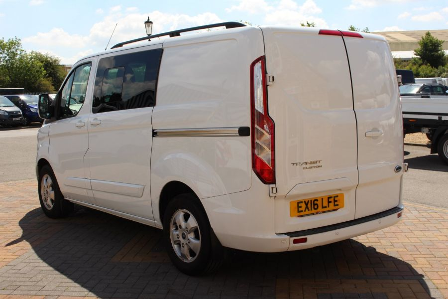 FORD TRANSIT CUSTOM 290 TDCI 125 L1 H1 LIMITED SWB DOUBLE CAB 6 SEAT CREW VAN FWD - 9206 - 7