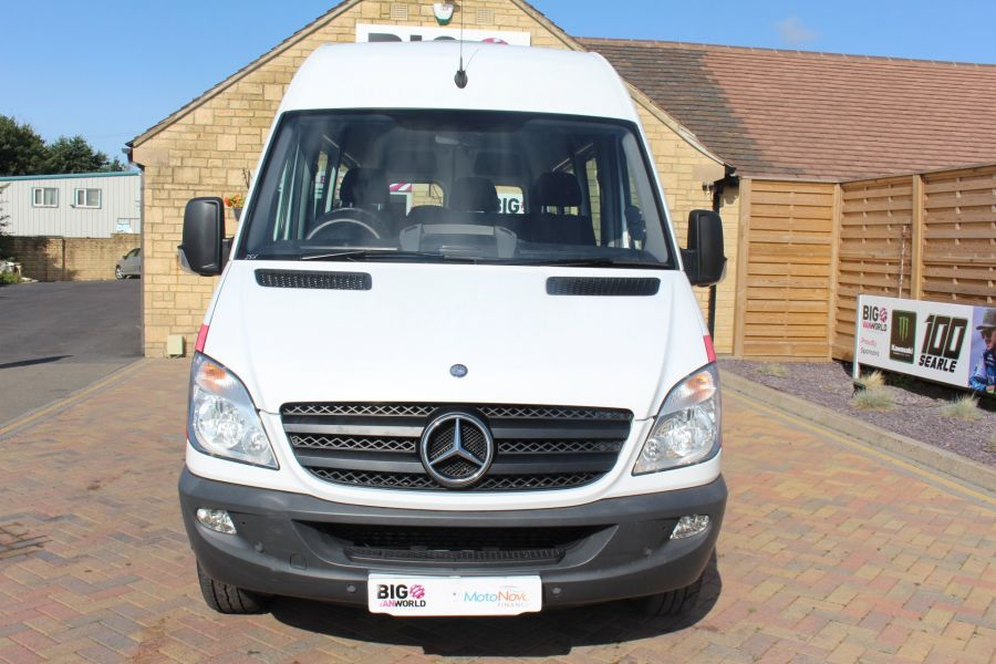 MERCEDES SPRINTER 316 CDI 163 TRAVELINER LWB 15 SEAT BUS HIGH ROOF - 8106 - 9