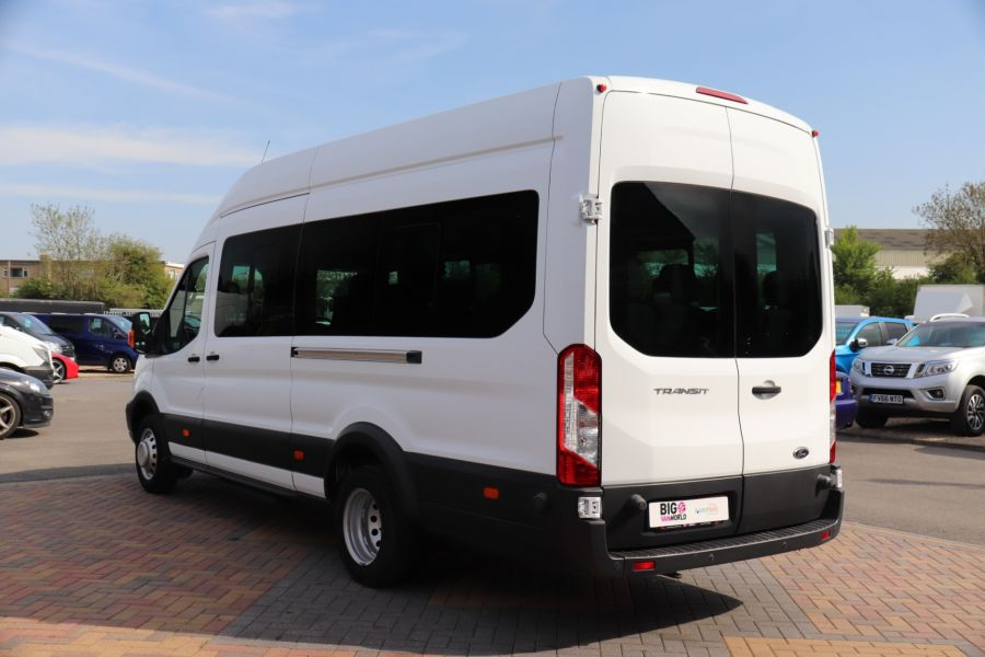 FORD TRANSIT 460 TDCI 125 L4H3 TREND 17 SEAT BUS HIGH ROOF DRW RWD - 10326 - 8