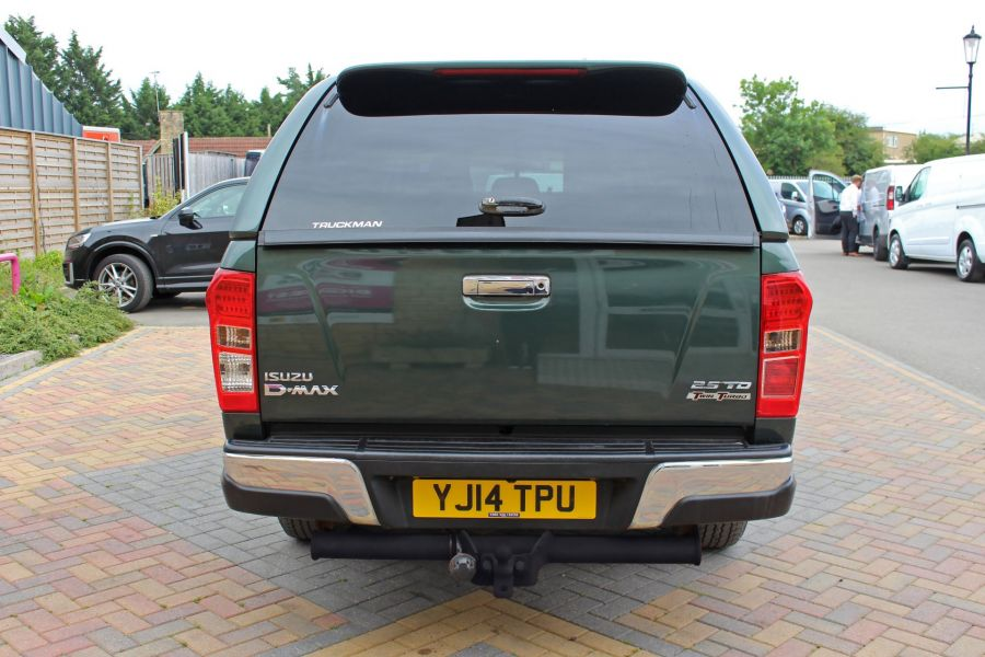 ISUZU D-MAX TD 163 YUKON VISION DOUBLE CAB WITH TRUCKMAN TOP - 9450 - 6