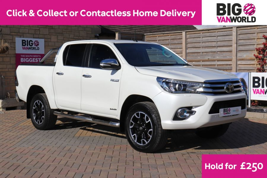 TOYOTA HI-LUX D-4D 150 INVINCIBLE X 4WD DOUBLE CAB WITH ROLL'N'LOCK TOP - 12270 - 1