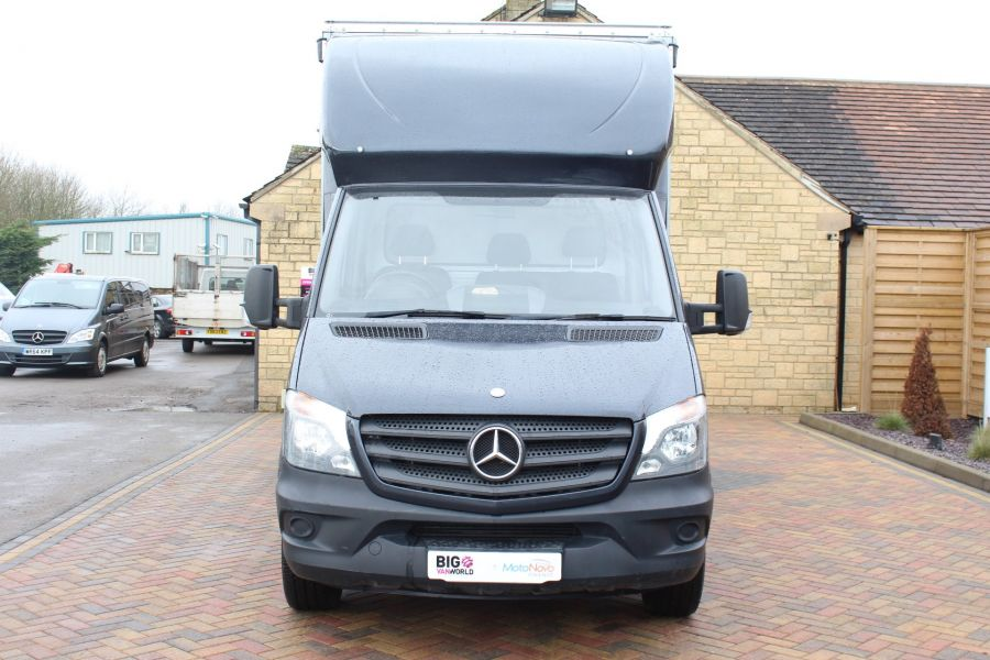 MERCEDES SPRINTER 313 CDI LWB 14FT CURTAIN SIDE BOX - 5627 - 8