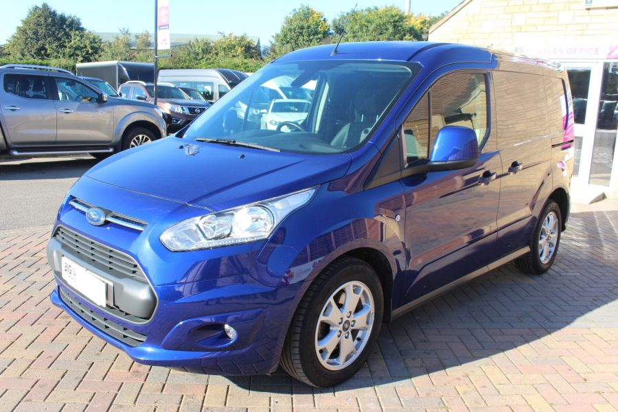 FORD TRANSIT CONNECT 200 TDCI 125 L1 H1 LIMITED SWB LOW ROOF - 8327 - 8