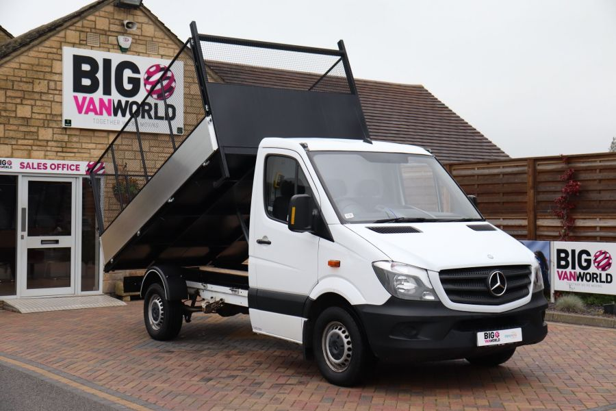 MERCEDES SPRINTER 313 CDI 129 MWB SINGLE CAB NEW BUILD CAGED TIPPER  - 10825 - 13