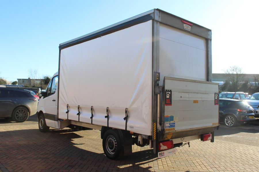 MERCEDES SPRINTER 313 CDI LWB CURTAIN SIDE BOX WITH TAIL LIFT - 6946 - 6