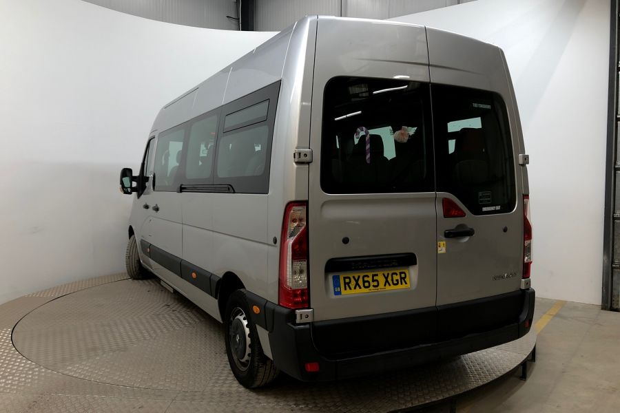 RENAULT MASTER LM39 DCI 150 BUSINESS LWB 17 SEAT BUS MEDIUM ROOF WITH OVERHEAD STORAGE  (13987) - 12235 - 4