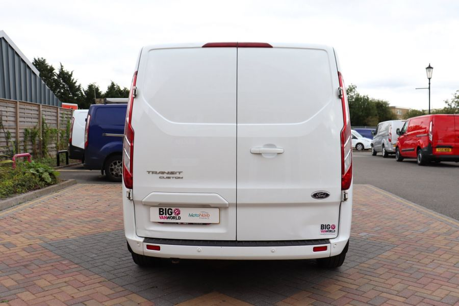 FORD TRANSIT CUSTOM 310 TDCI 130 L1H1 LIMITED SWB LOW ROOF - 11931 - 9