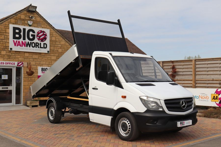 MERCEDES SPRINTER 313 CDI 129 MWB SINGLE CAB NEW BUILD ALLOY TIPPER - 10630 - 14