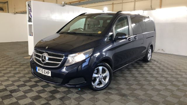 Used MERCEDES V-CLASS in Used Vans Swindon for sale