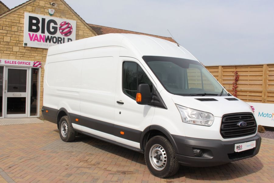 FORD TRANSIT 350 TDCI 125 L4 H3 JUMBO HIGH ROOF RWD - 7394 - 3