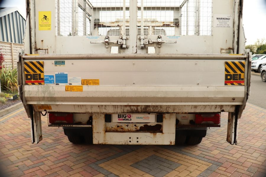 IVECO DAILY 70C18 3450 WB SINGLE CAB ALLOY CAGED TIPPER WITH TAIL LIFT - 9614 - 8