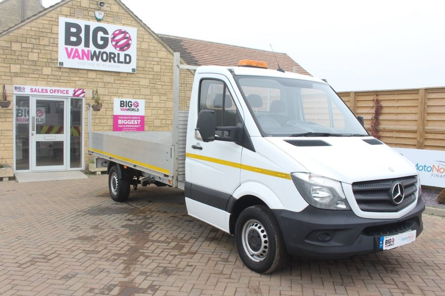 MERCEDES SPRINTER 313 CDI LWB SINGLE CAB ALLOY DROPSIDE - 6885 - 2